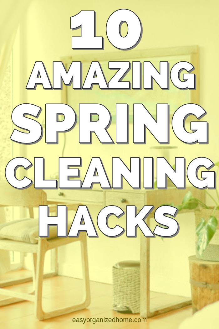 DIY amazing spring cleaning hacks tips and tricks to clean your entire home #cleaning #cleaningtips #cleaninghacks #cleaningtricks #housecleaning #housecleaningtips #housekeeping  #springcleaning #springclean