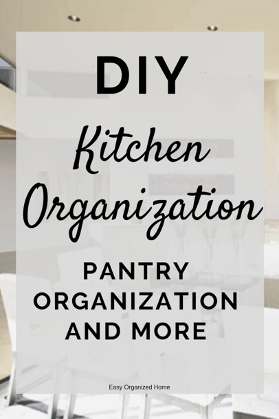 DIY kitchen and pantry organization storage ideas #kitchenideas #kitchenorganization #kitchenorganizationideas #kitchenorganizationdiy #kitchenorganizing #organization #organizationideas #organizationtips #organizationhacks #organizationideasforthehome #organize #organizedhome #organizingtips #organizingyourhome #organizingclutter #organizingideas #konmari