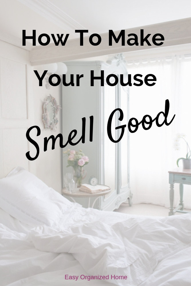 Get amazing home hacks to make your house smell good all the time. We share smell hacks, cleaning tips and more. #homehacks #smellhacks #cleaninghacks #homecleaning #essentialoils
