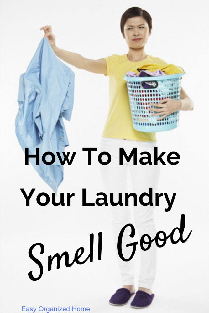 Stop your laundry smelling bad with these hacks and lots more smell hacks for your home. #homehacks #smellhacks #cleaninghacks #homecleaning #essentialoils