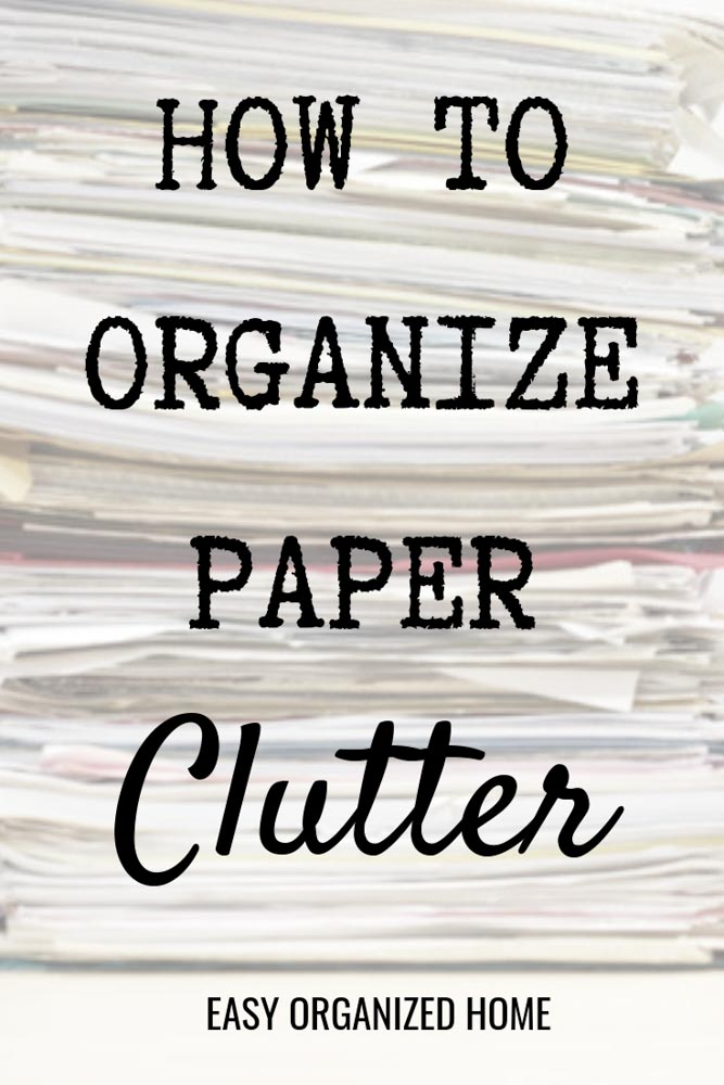 Messy desk or home paperwork everywhere? Never loose paperwork or be late to pay a bill again with these simple organization tips. #paperworkorganization #peperworkorganizationideas #paperworkorganizationfilingsystem #organizing #organization #declutter #paperworkstorageideas #homeofficeorganization #deskorganization #homeorganization