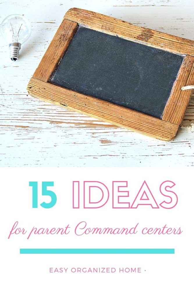Declutter kids stuff with these brilliant parent command center ideas. #declutter #organization #homeorganization #organizationideas #parentcommandcenter #familycommandcenter