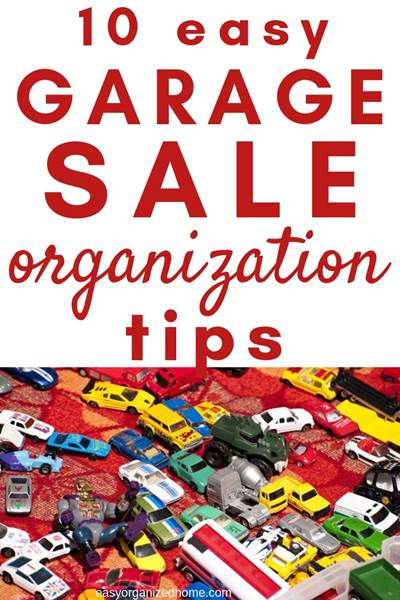 Need a checklist to keep organized for your garage sale? Find out my top 10 tips to have a good head start and organize  your multi family or neighborhood yard sale to have the most profit from your clutter. #garagesale #garagesaletips #yardsale #extramoney #extracash #extraincome #declutter #decluttering #declutteryourhome #declutteringtips #declutteringahouse
