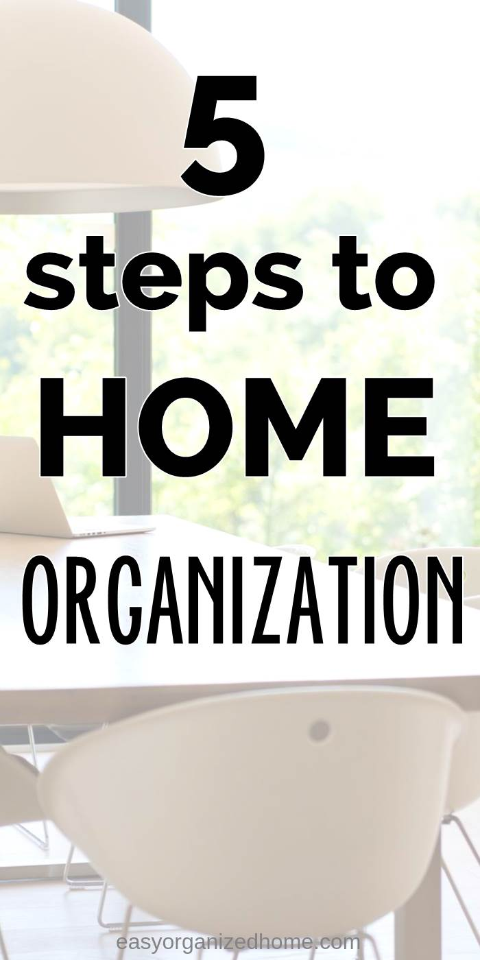 5 steps for home organization on a budget, declutter your house or apartment with these simple ideas and hacks #declutter #decluttering #declutteryourhome #declutteringtips #declutteringahouse #organization #organize #organizing #organizationideas