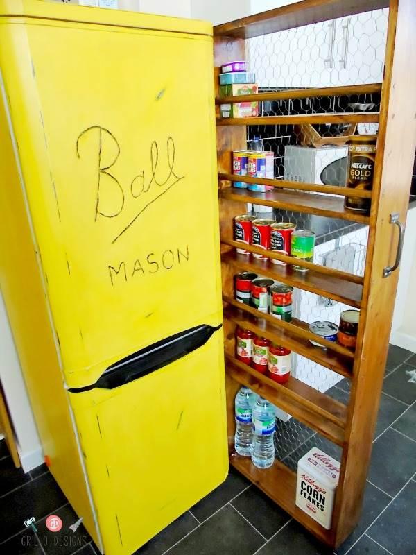 Make your pantry bigger