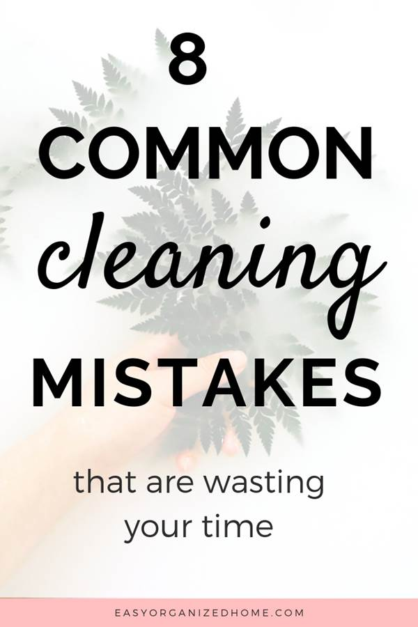 Are you making these silly cleaning mistakes? Check out these common cleaning mistakes and how to avoid them. #cleaning #cleaningtips #cleaninghacks #cleaningtricks #housecleaning #housecleaningtips #housekeeping #springcleaning #springclean