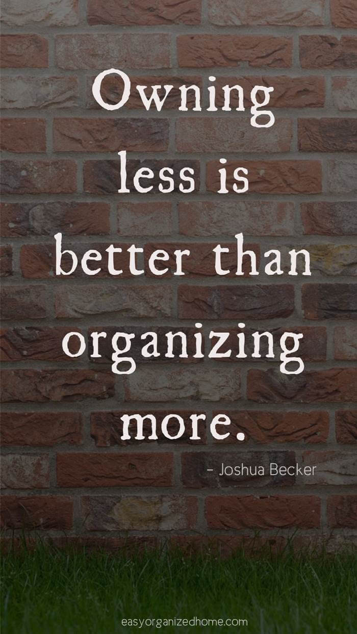 joshua becker quotes #quote #quoteoftheday #quotestoliveby #quotesinspirational #motivation #motivationalquotes #inspirational #inspirationalquotes #inspirationalwords #organizationquotes #organization #declutteringquotes #decluttering #minimalist #minimalist #minimalistquotes