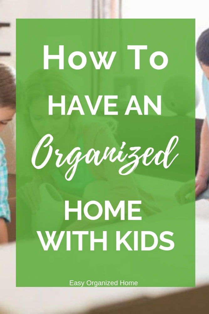 Find easy ways to organize your home to suit your family! #organizedhome #organization #organizingtips #organizedwithkids #familyorganization