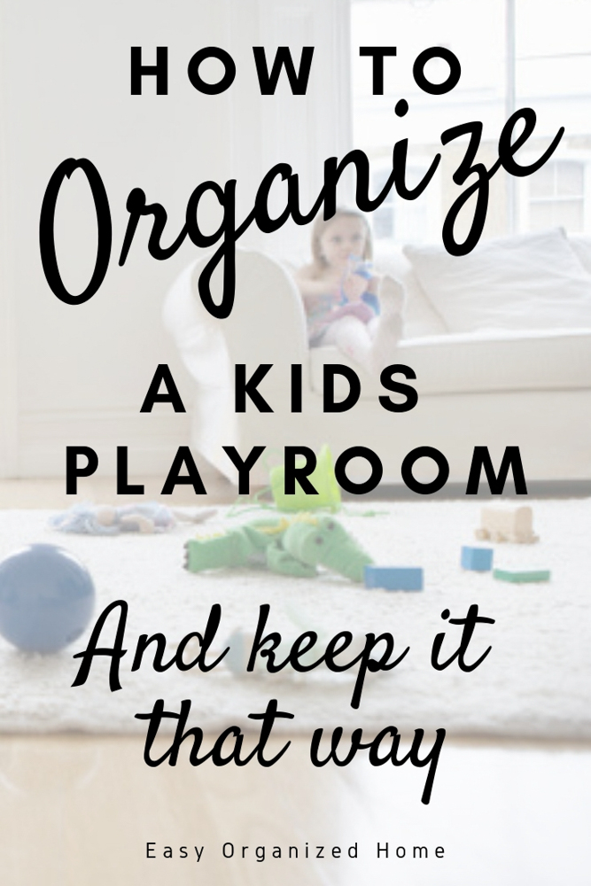 Need to get the playroom or your kids room organized? Find some easy ways to get organized and keep it that way with toy storage, organization ideas and more . #kidstoystorage #playroomorganization #toystorageideas #playroomstorage 3kidsorganization #organizationhacks #homeorganization #getorganized