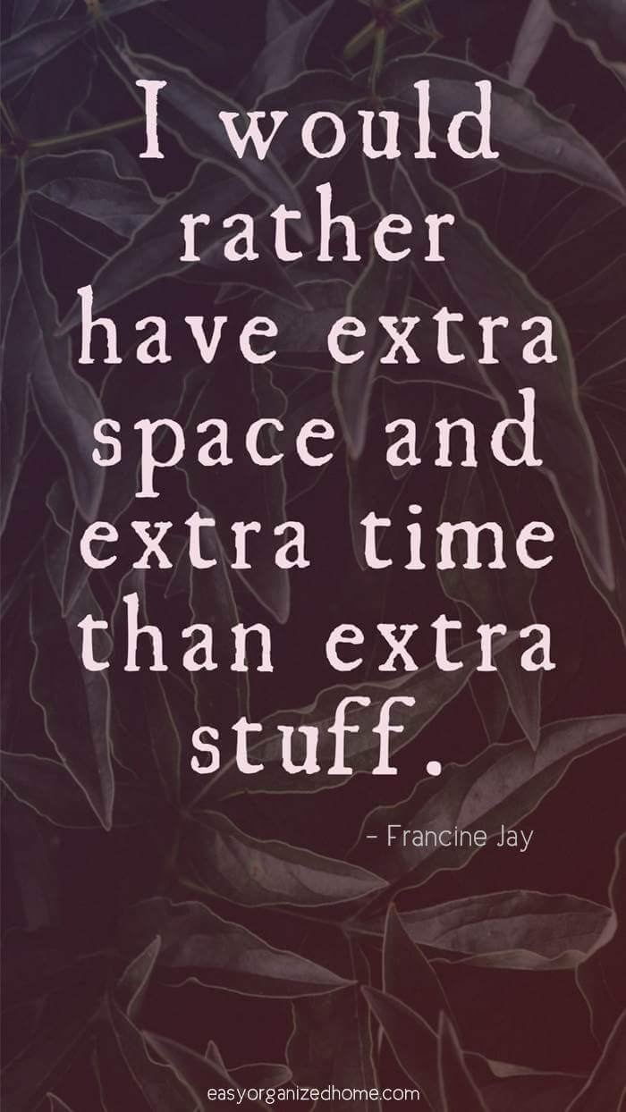 have less stuff quotes #quote #quoteoftheday #quotestoliveby #quotesinspirational #motivation #motivationalquotes #inspirational #inspirationalquotes #inspirationalwords #organizationquotes #organization #declutteringquotes #decluttering #minimalist #minimalist #minimalistquotes