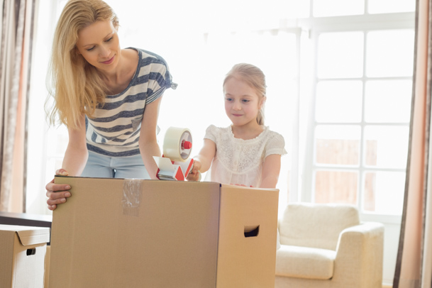 declutter with kids