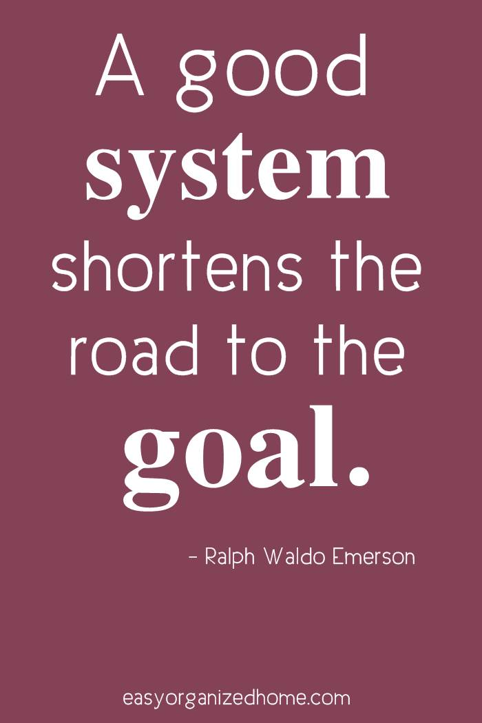 organization quotes. a good system shortens the road to the goal. #quote #quoteoftheday #quotestoliveby #quotesinspirational #motivation #motivationalquotes #inspirational #inspirationalquotes #inspirationalwords #organizationquotes #organization #declutteringquotes #decluttering #minimalist #minimalist #minimalistquotes