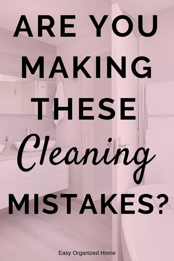 Common cleaning mistakes you might be making while spring cleaning your house - check these time saving cleaning tips and advice. #cleaning #cleaningtips #cleaninghacks #cleaningtricks #housecleaning #housecleaningtips #housekeeping #springcleaning #springclean
