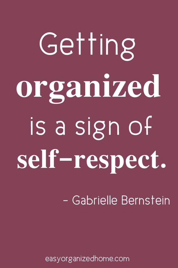 getting organized is a sign of self respect #quote #quoteoftheday #quotestoliveby #quotesinspirational #motivation #motivationalquotes #inspirational #inspirationalquotes #inspirationalwords #organizationquotes #organization #declutteringquotes #decluttering #minimalist #minimalist #minimalistquotes