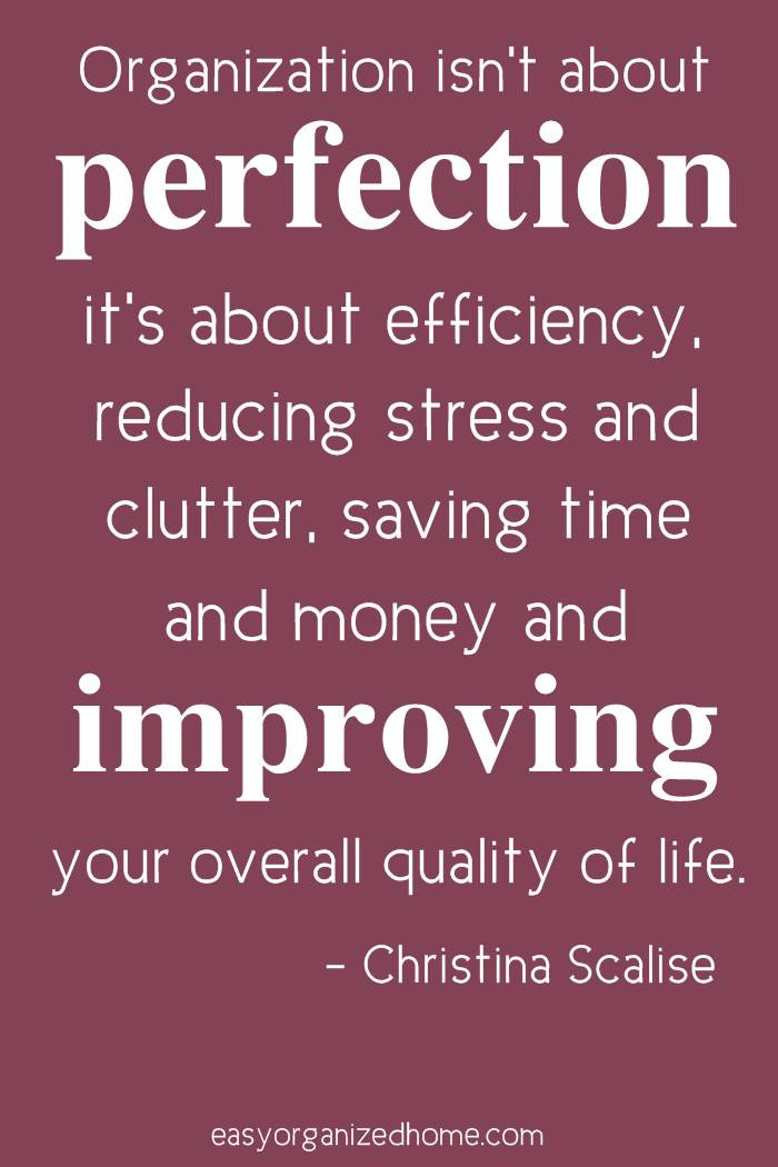 organization isn't about perfection #quote #quoteoftheday #quotestoliveby #quotesinspirational #motivation #motivationalquotes #inspirational #inspirationalquotes #inspirationalwords #organizationquotes #organization #declutteringquotes #decluttering #minimalist #minimalist #minimalistquotes
