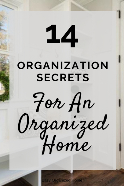Anyone can be organized with these easy organization steps.  #organization #organizationhacks #organizationtips #organizehome #getorganized #declutter #declutterhome #delcuttering #organizedhome