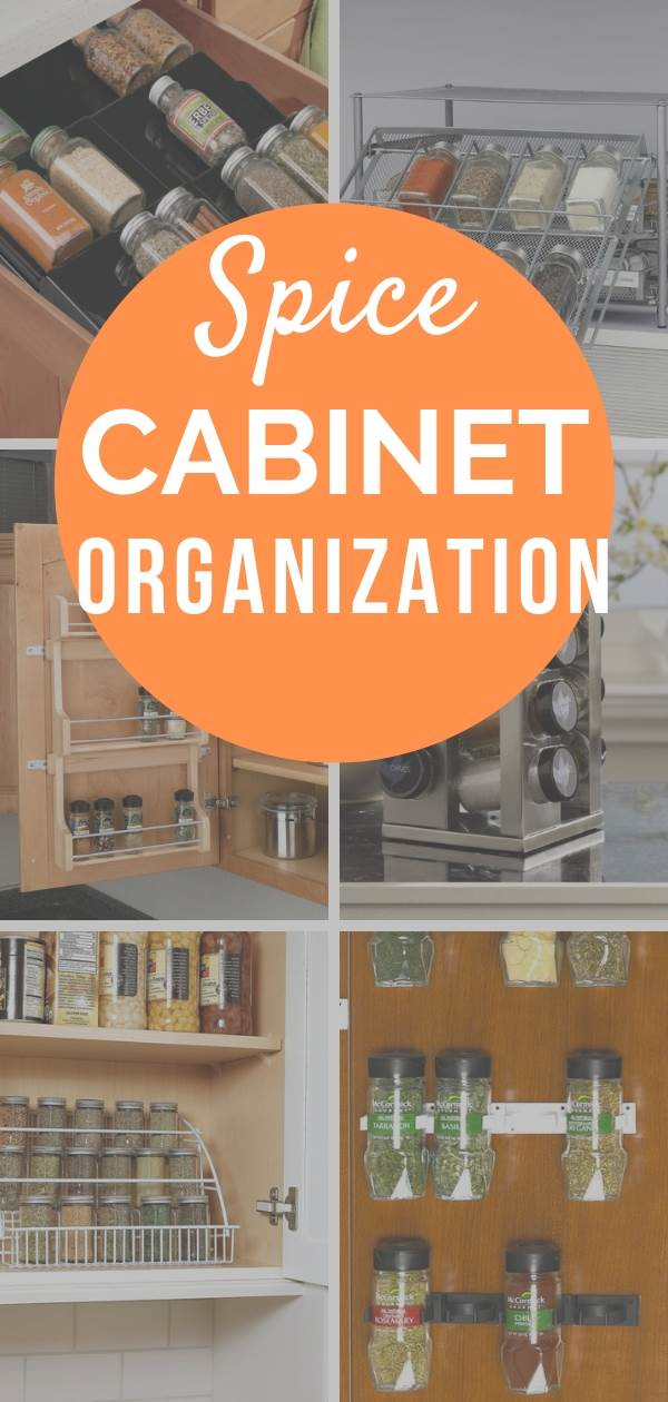 Brilliant spice cabinet organization products that will help you organize your spices. How to organize spices in pantry or kitchen cabinet . Simple kitchen organizing ideas for Spice storage . #spicerack #kitchen #kitchenorganization #kitchenorganizationideas #kitchenorganizing #kitchenideas #organizedkitchen #organize #organizedpantry #pantryorganization