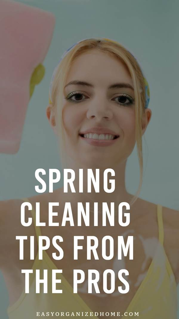 Spring cleaning tips from the pros, top tips from professional cleaners. #cleaning #cleaningtips #cleaninghacks #cleaningtricks #housecleaning #housecleaningtips #housekeeping #springcleaning #springclean