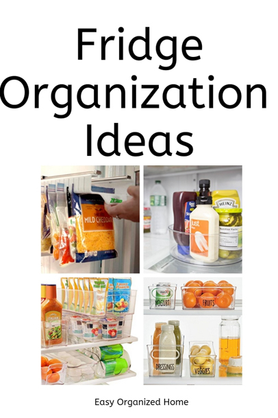 Don't spend a fortune on fridge organization. We share easy organization ideas for your refrigerator. #organization #getorganized #fridgeorganization #organizefridge #refrigeratororganization #organizationhacks #organizationideas #organizationtips