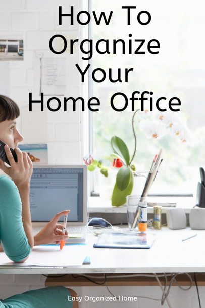 From desk organization ideas to organising paperwork, get the best home office organization ideas. #organization #getorganized #organizaing #homeofficeorganization #deskorganization #organizationhacks #organizationideas