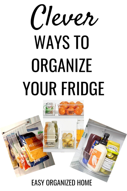 Stop wasting time and money! Get your fridge organized and stop throwing food and money away. It's easy with these simple organization ideas #organization #getorganized #fridgeorganization #organizefridge #refrigeratororganization #organizationhacks #organizationideas #organizationtips