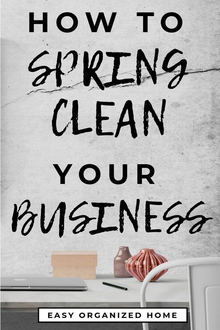 How to Spring Clean your business. 6 spring cleaning business tips for your business or workplace. #springclean #springcleaning #cleaningtips #cleaning