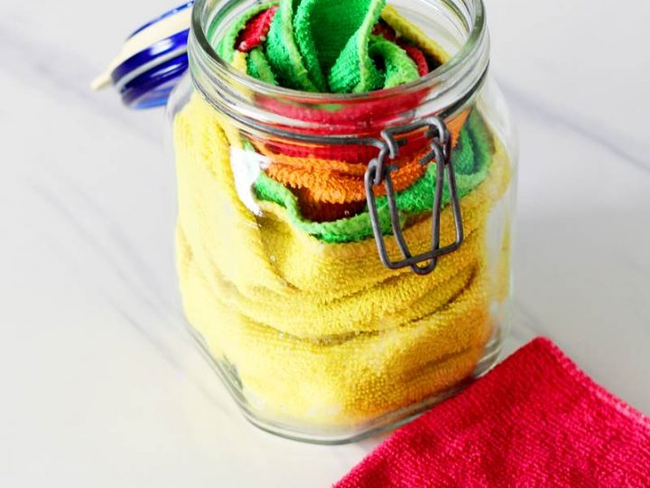How To Make Homemade Disinfectant Wipes