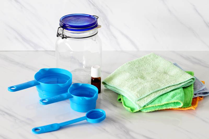 homemade antibacterial wipes