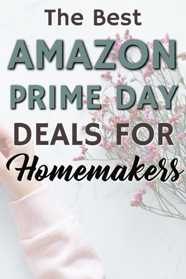 Amazon prime day deals for cleaners and homemakers