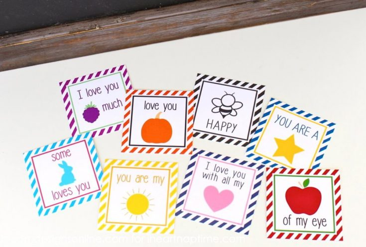 Print Out Your Lunchbox Notes Ahead of Time