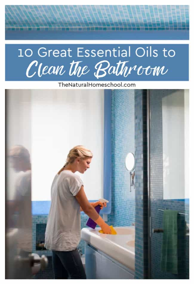 Essential Oilsbathroom hack