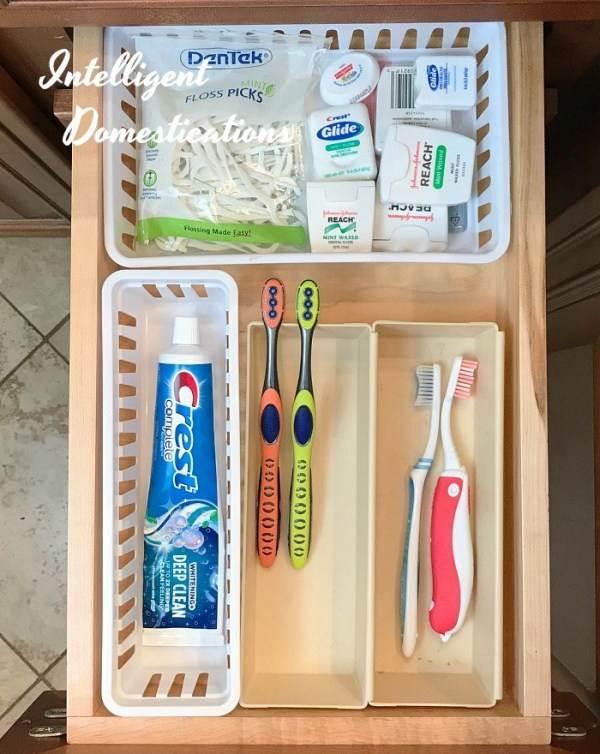 DIY Bathroom organizer ideas