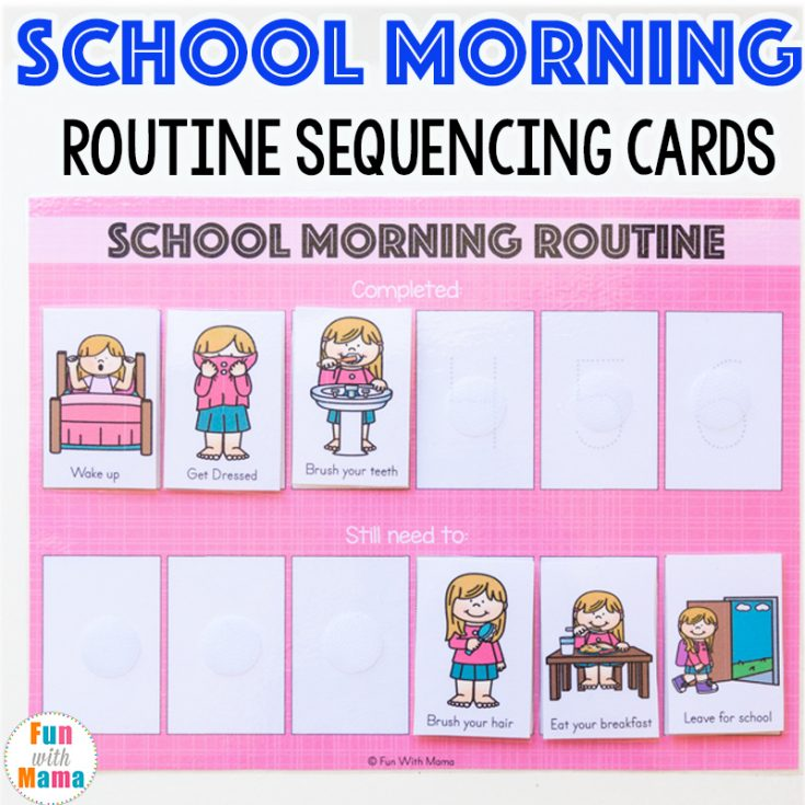 Print Out Your Morning Routine