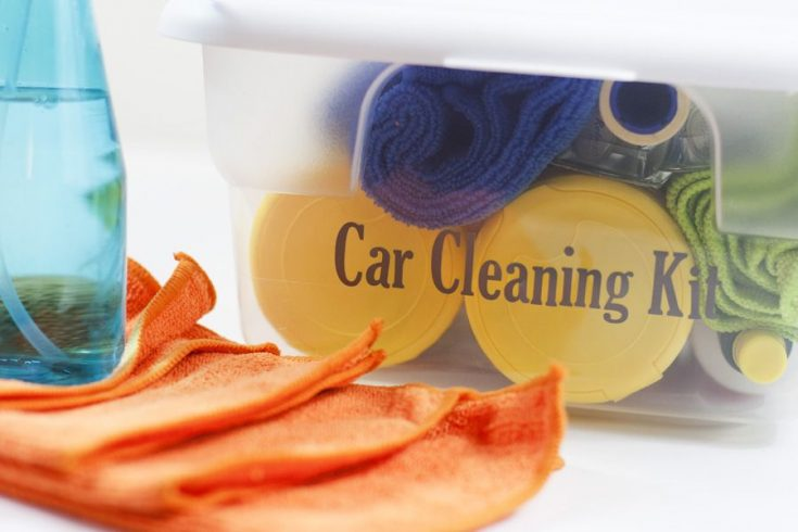 DIY Car Cleaning Kit
