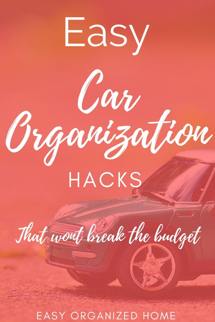 How To Keep Car Organized and clean with these easy organization ideas! Perfect for family cars. #carorganization #carhacks $organizationwithkids #organizationhacks #organizationtips