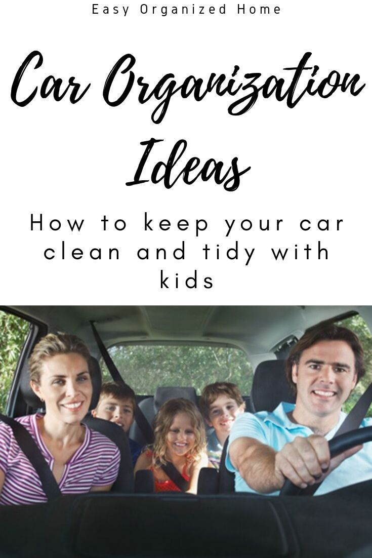 Car Organization Tips that won't break your budget! #carorganization #organizationtips #organizationhacks #organizationwithkids