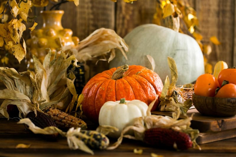 Autumn natural scents