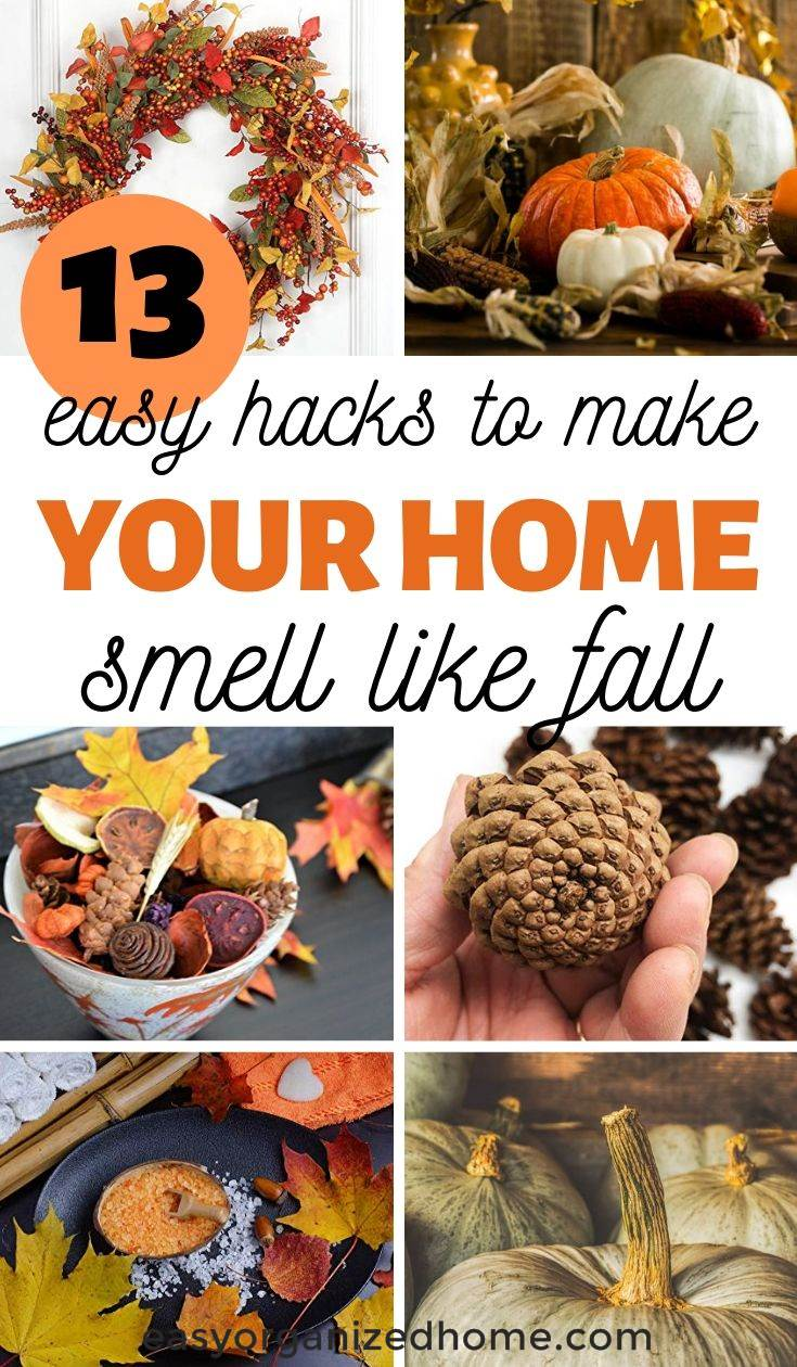 how to make house smell like fall