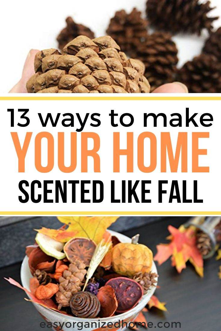 simple ways to make your home smell like fall